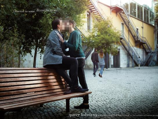 Queer Lisboa Print Ad -  Beautiful, 1