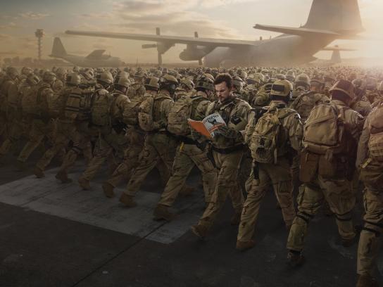 Reporter Magazine Print Ad - Questioning War