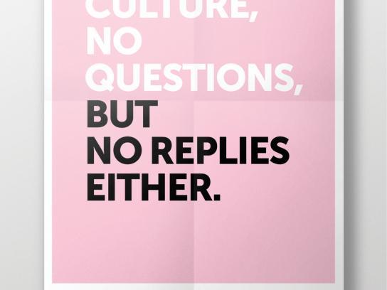 Fondation Cultura Print Ad -  Questions