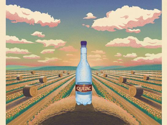 Quézac Print Ad - The Haystack