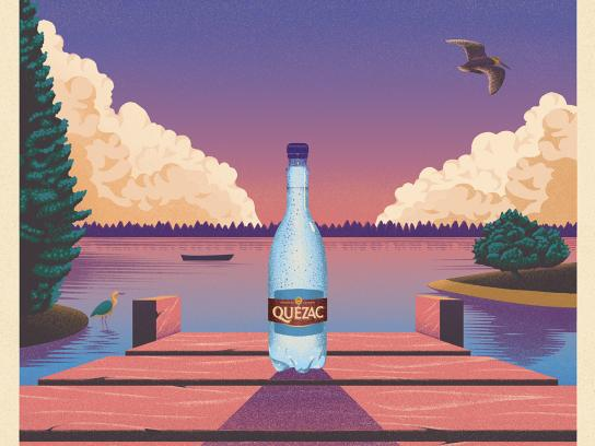 Quézac Print Ad - The Pontoon