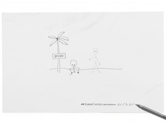 Faber-Castell Print Ad -  Quicksand