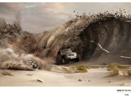 Jeep Print Ad -  Wave