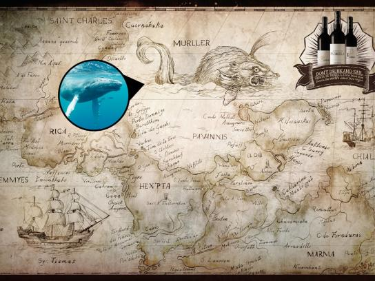 Quinta da Padrela Print Ad -  Whale