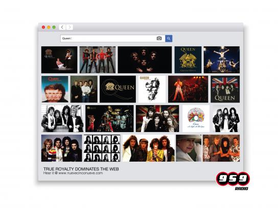 Radio 959 Print Ad - Queen