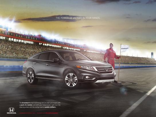 Honda Print Ad -  Race