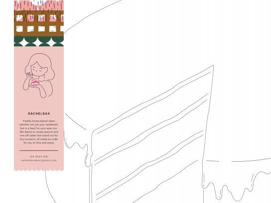Rachelrax Print Ad - Cakes, 2