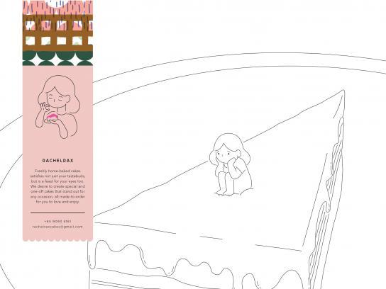 Rachelrax Print Ad - Cakes, 3