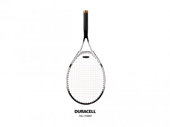 Duracell Print Ad - Racket