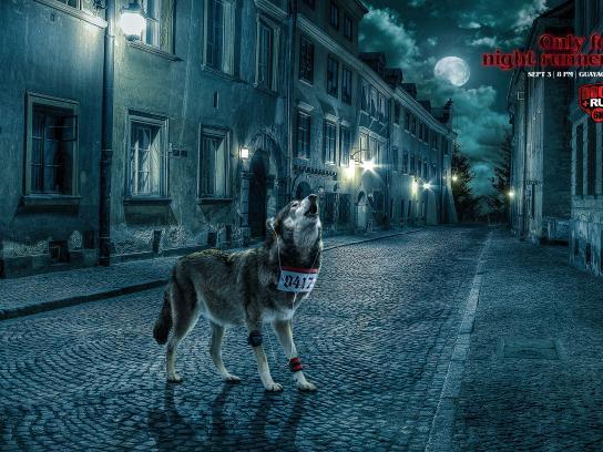 Radio City 89.3 FM Print Ad - Wolf