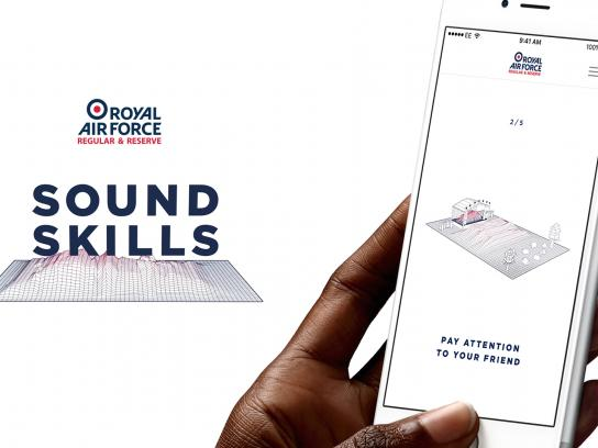 Royal Air Force Digital Ad - Sound skills