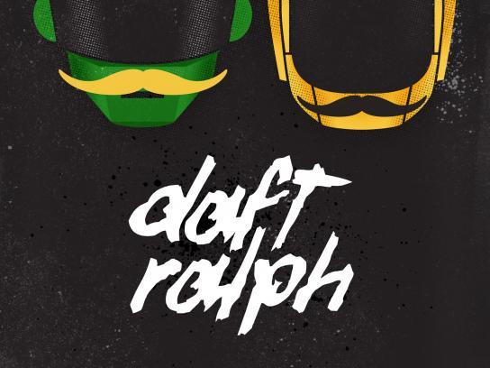 Ralph's Mob Outdoor Ad -  Daft Ralph