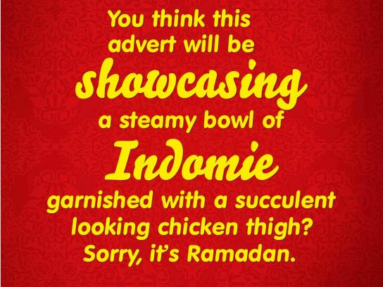 Indomie Noodles Print Ad -  Fasting ads, 2