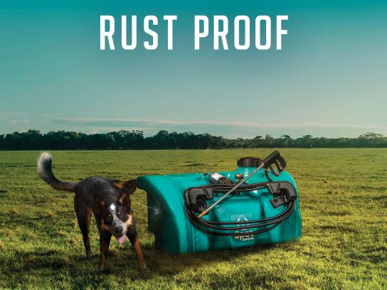 Rapid Spray Print Ad - Rust Proof