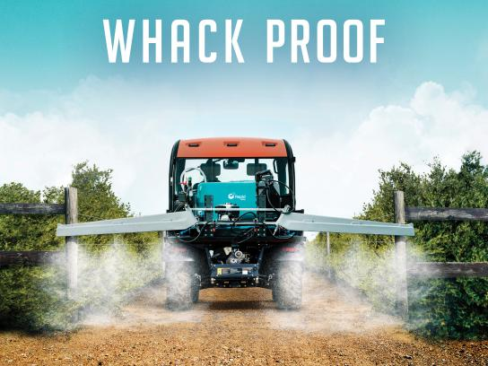 Rapid Spray Print Ad - Whack Proof