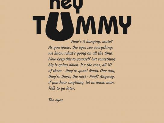 Merican Print Ad -  Tummy