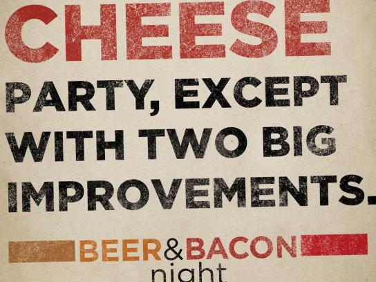 Rashers Print Ad -  Wine & Cheese