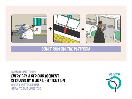 RATP Outdoor Ad - Bride