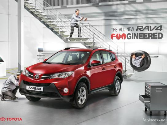 Toyota Print Ad -  Fungineered, 3