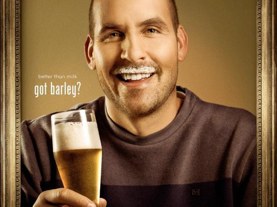 Barley Print Ad -  Got Barley?, 1