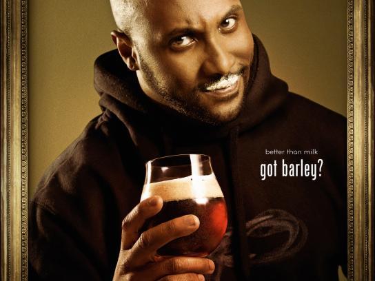 Barley Print Ad -  Got Barley?, 2