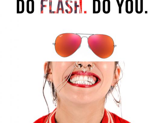Ray-Ban Print Ad - Flash