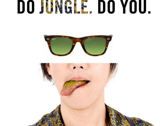 Ray-Ban Print Ad - Jungle