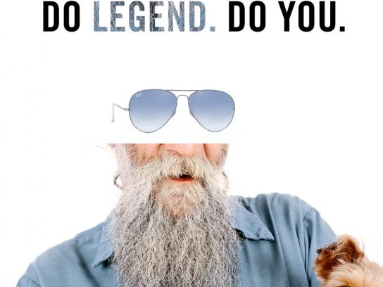 Ray-Ban Print Ad - Legend