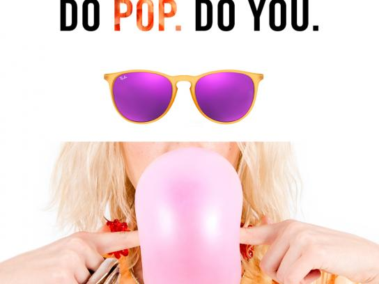 Ray-Ban Print Ad - Pop