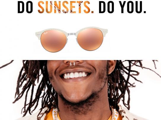 Ray-Ban Print Ad - Sunsets