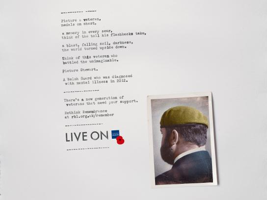 The Royal British Legion Print Ad - Steward