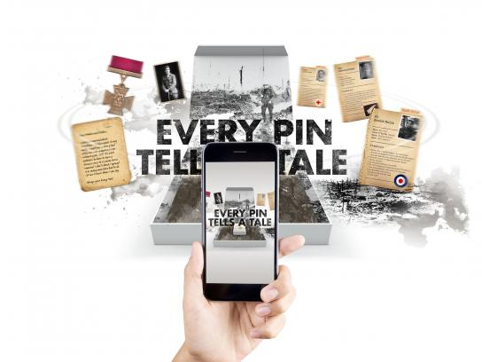 The Royal British Legion Digital Ad - Every Pin Tells a Tale