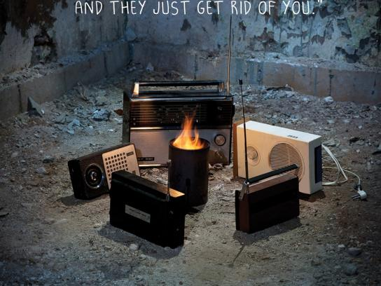 RadioCentras Print Ad -  Sorry, 2