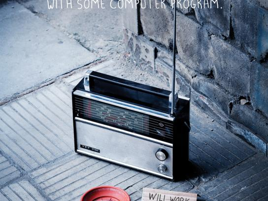 RadioCentras Print Ad -  Sorry, 1