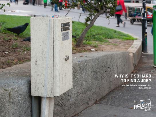 European Parliament Outdoor Ad -  Why is it so hard to find a job?, 5
