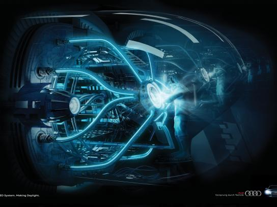 Audi Print Ad -  Reactor