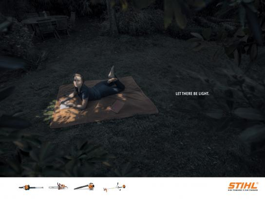 Stihl Print Ad -  Reading
