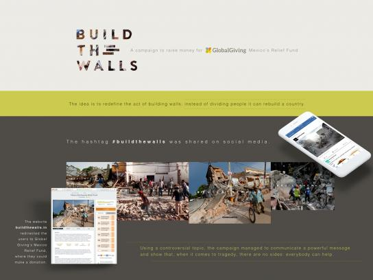 Global Giving Digital Ad - Build The Walls