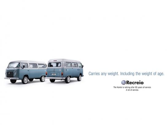 Volkswagen Print Ad -  Age