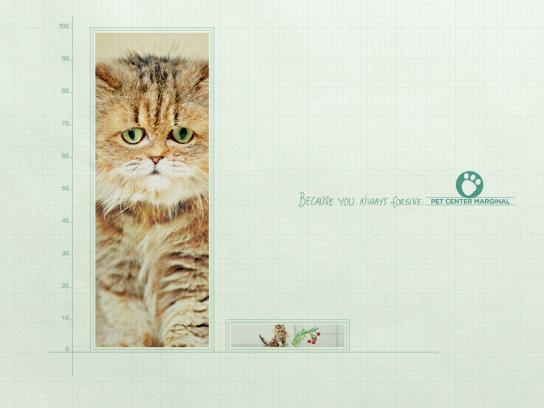 Pet Center Marginal Print Ad -  Rectangle