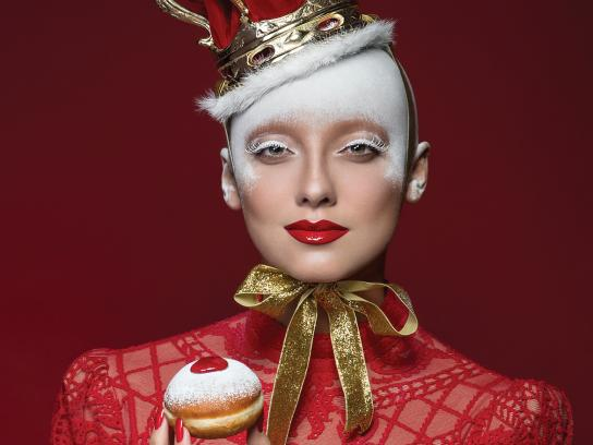 Roladin Print Ad - 2017 Sufganiyot Collection - Red