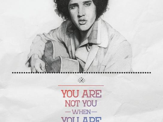 Red17 Print Ad -  Elvis