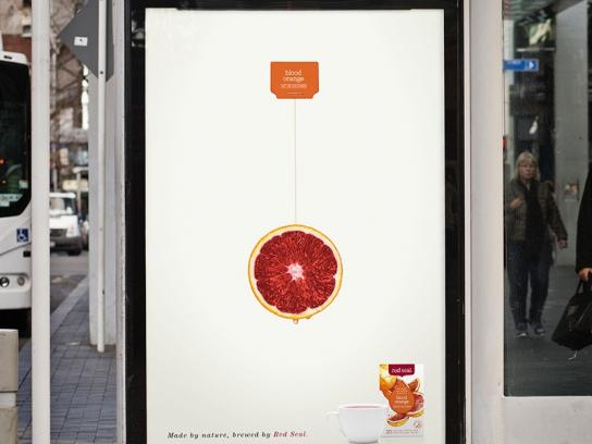 Red Seal Outdoor Ad -  Orange
