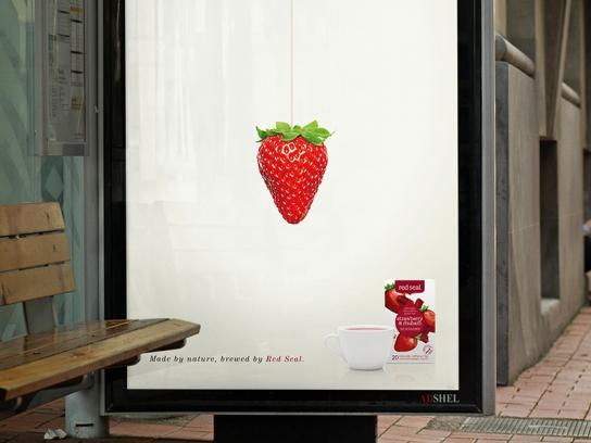 Red Seal Outdoor Ad -  Strawberry