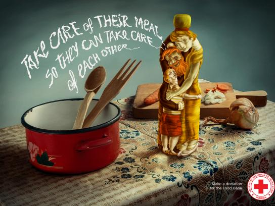 Red Cross Print Ad - Cooking Oil