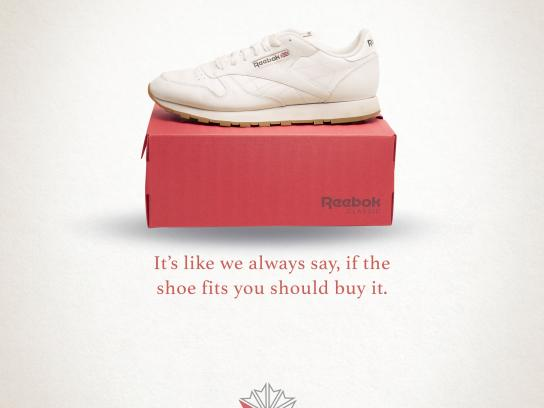 Reebok Print Ad - Buy it