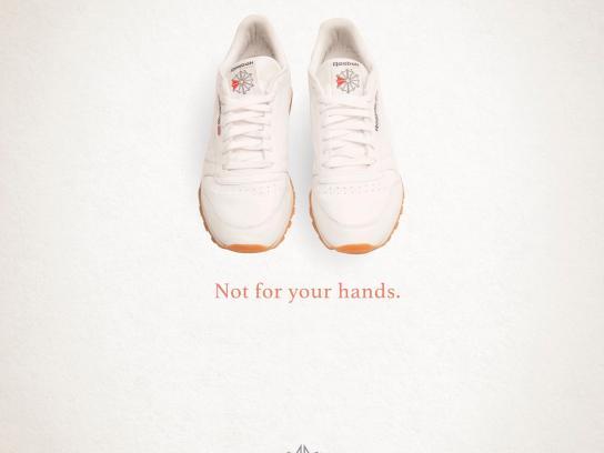 Reebok Print Ad - Hands