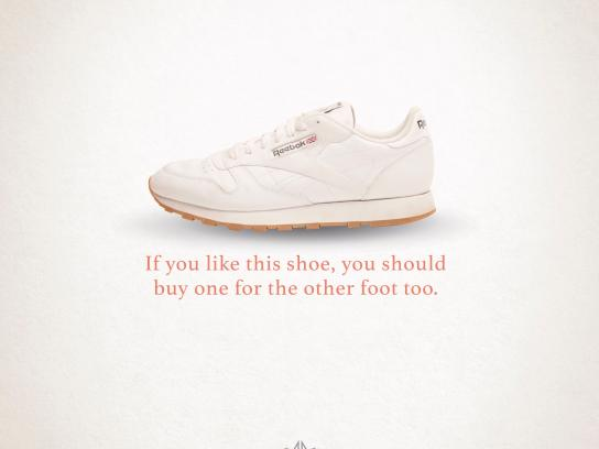 Reebok Print Ad - Other foot