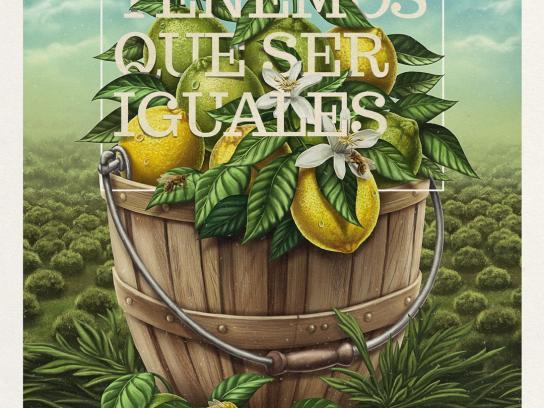 Jugos Túnez Print Ad -  Lemons