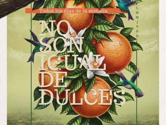 Jugos Túnez Print Ad -  Oranges